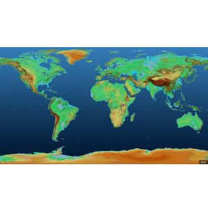 Satellites Create 3D Height Map of Earth