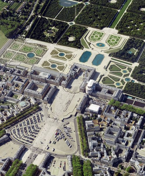 France-based aerial survey firm APEI is the first to purchase the Leica CityMapper-2 to capture imagery like this of Versailles Castle, France.