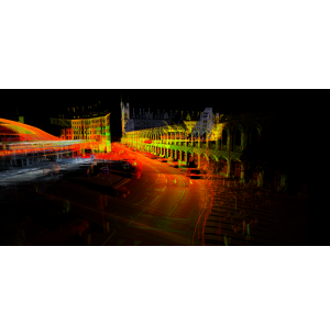 Street-level Laser Point Clouds and Imagery for Smart Parking
