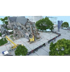Rebuild Ready: 3D Mapping a Quake-damaged Cathedral
