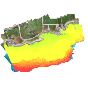 Bathymetry from UAV Imagery and Machine Learning