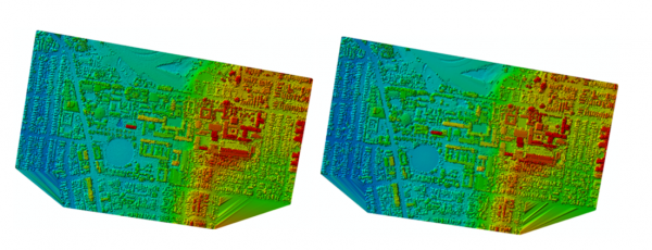 Figure 1: Airborne Lidar over the UNSW campus in 2005.