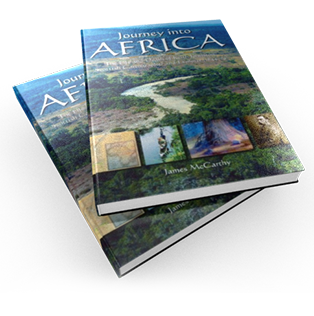 Cover book Journey into Africa