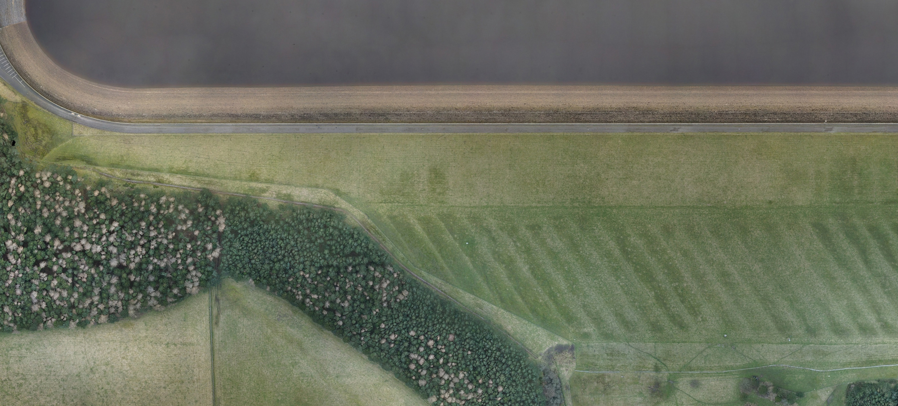 Lidar Reveals Lost Roman Road
